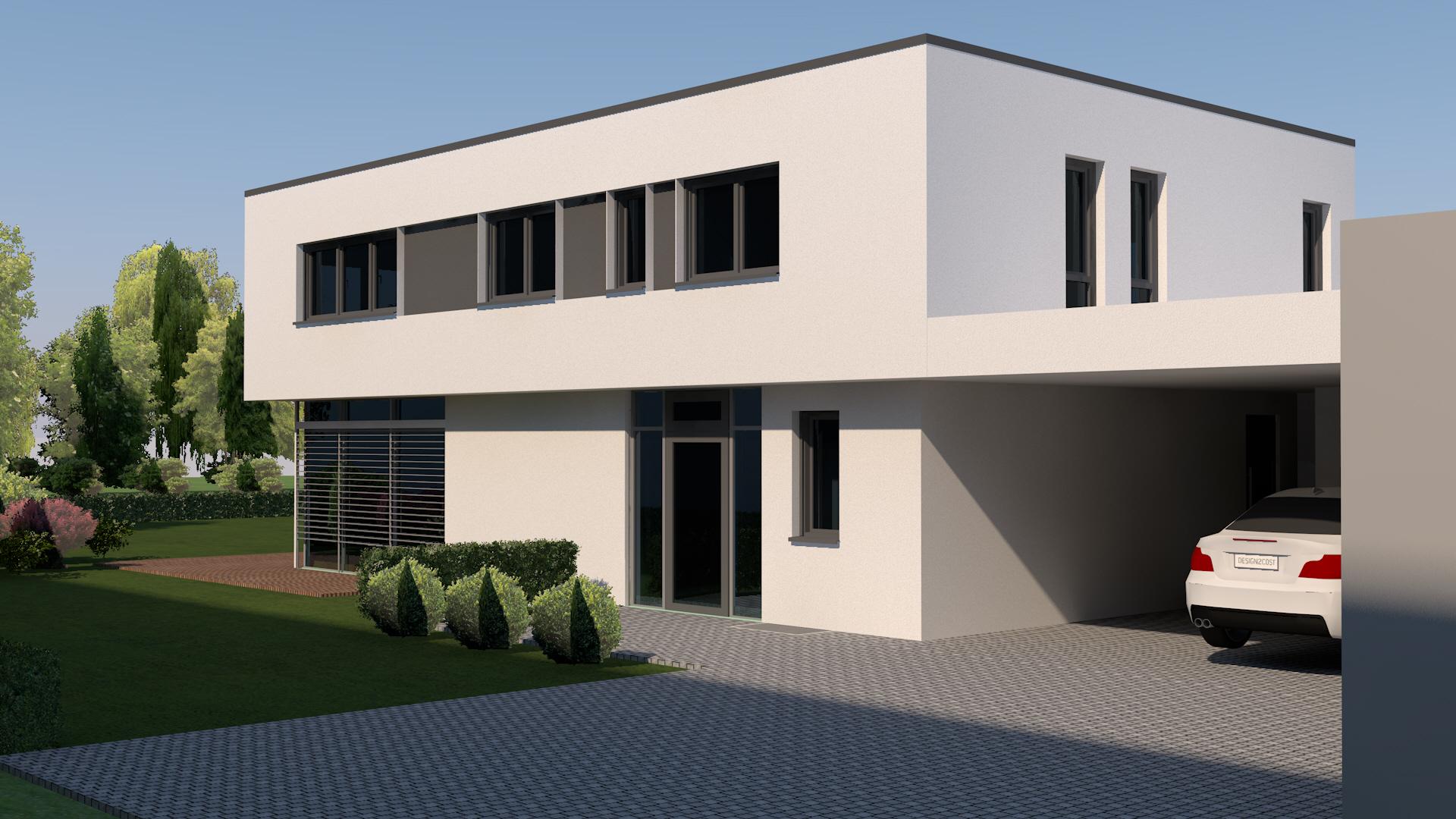 Ansprechend Flachdachhaus Ideen Von Modernes Neubau; Modernes Neubau; Modernes Neubau